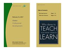 EPS Professional Development - Feb 21, 2017