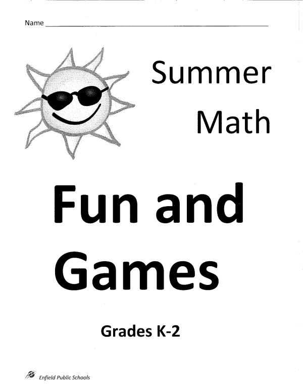 2017 EPS K-2 Summer Math Packet