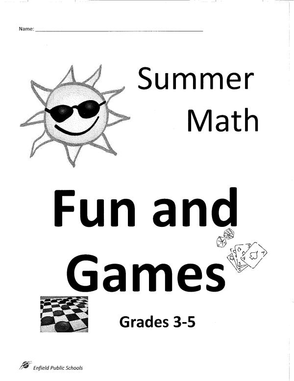 2017 EPS 3-5 Summer Math Packet