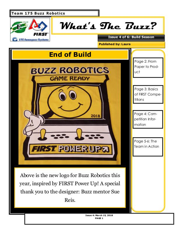 Buzz News 2018 Issue 4