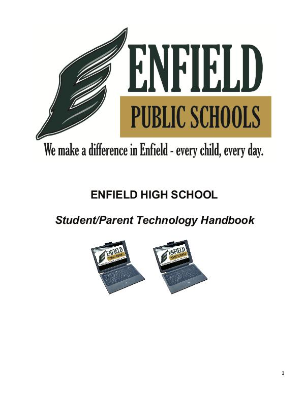 EHS Student Publications Enfield High School Ipad Handbook
