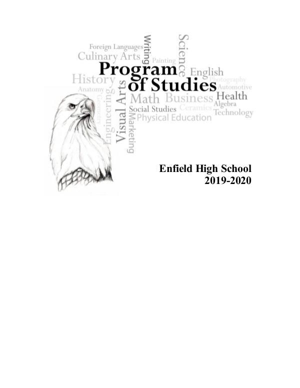 EHS Program of Studies 2019-2020