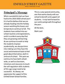 Enfield Street School News