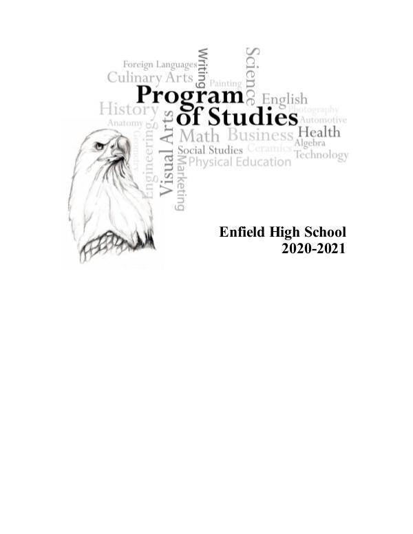 Program of Studies 2020-2021 FINAL