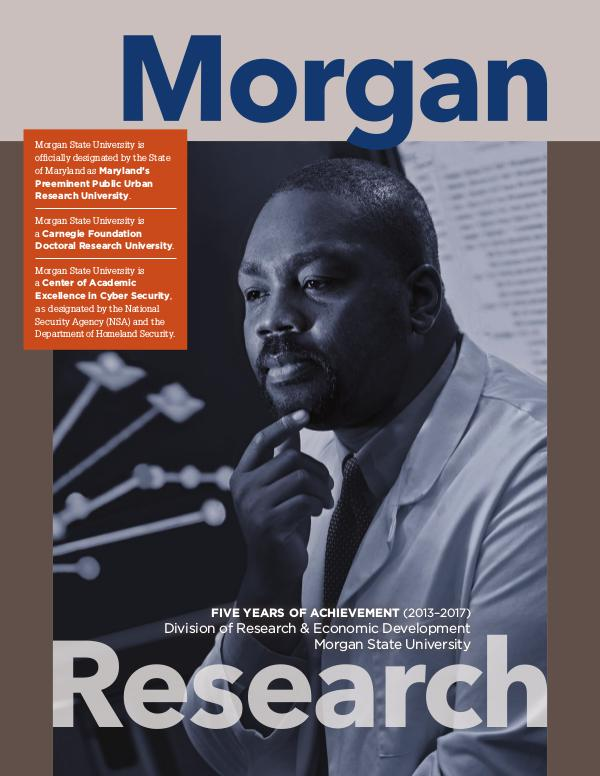 Five Year Achievements Morgan State University Research Magazine final.proof_MSU.research
