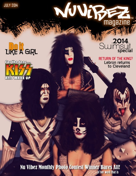 Nu Vibez and Roleplay Guide Magazine - July 2014