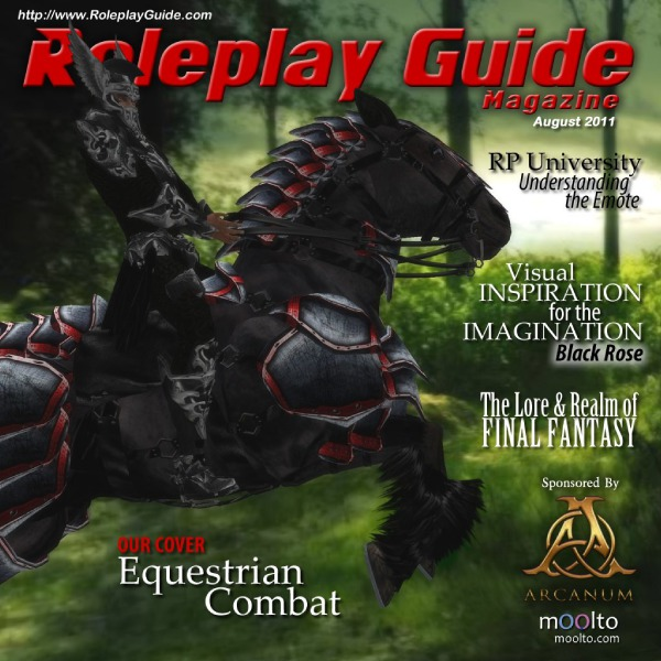 Nu Vibez and Roleplay Guide Magazine - August 2011
