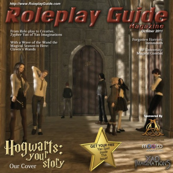 Nu Vibez and Roleplay Guide Magazine - October 2011