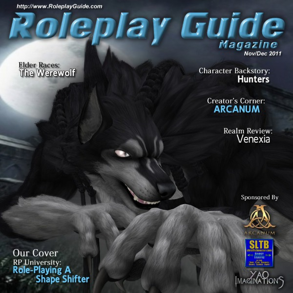 Nu Vibez and Roleplay Guide Magazine - November 2011
