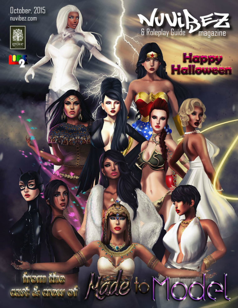 Nu Vibez and Roleplay Guide Magazine - October 2015
