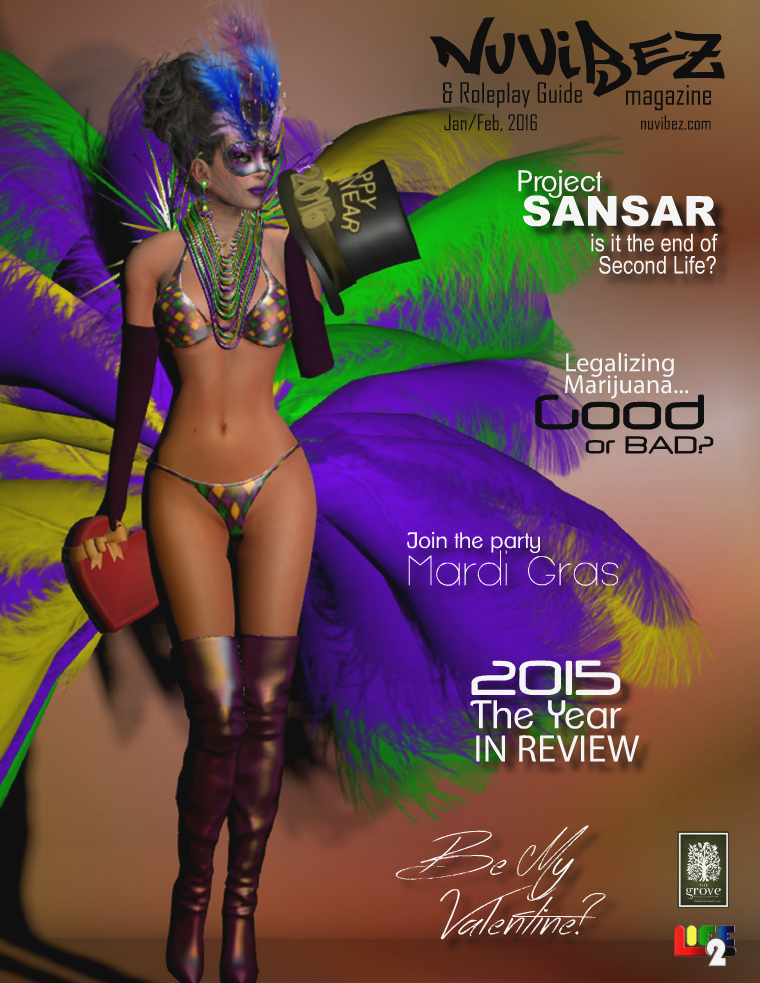 Nu Vibez and Roleplay Guide Magazine - Jan/Feb 2016