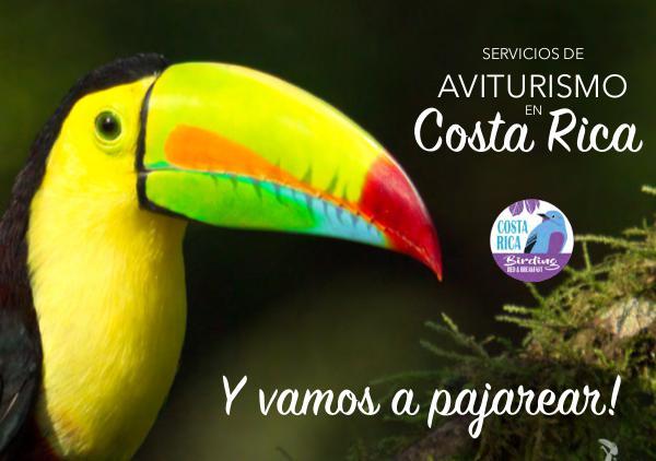 Costa Rica Birding B&B Catálogo Junio 2017 catalogo Costa Rica Birding B&B