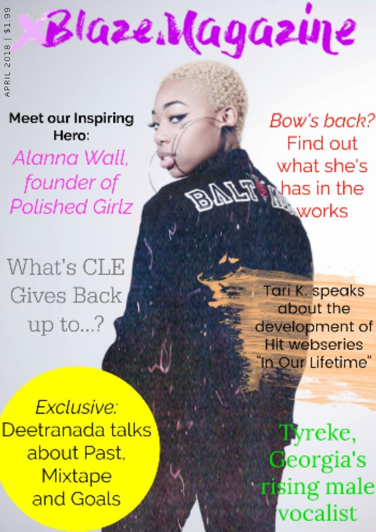 Blaze Magazine Issue 9: Deetrananda