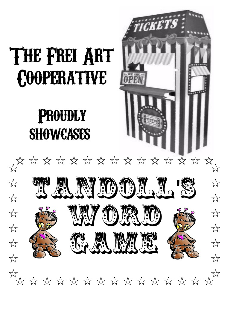 contritions of the phoenix zine Tandoll's Word Game Feb. 2017