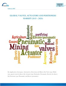 Valves Actuators and Positioners market to reach $42.6 bn by 2020