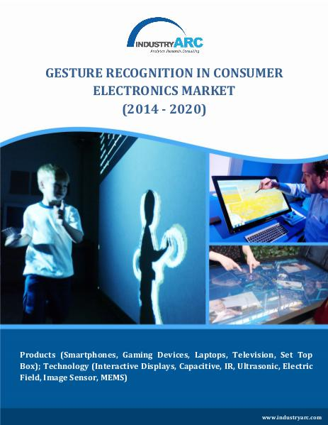 Gesture Recognition in Consumer Electronics Market (2014 - 2020) Gesture Recognition Market