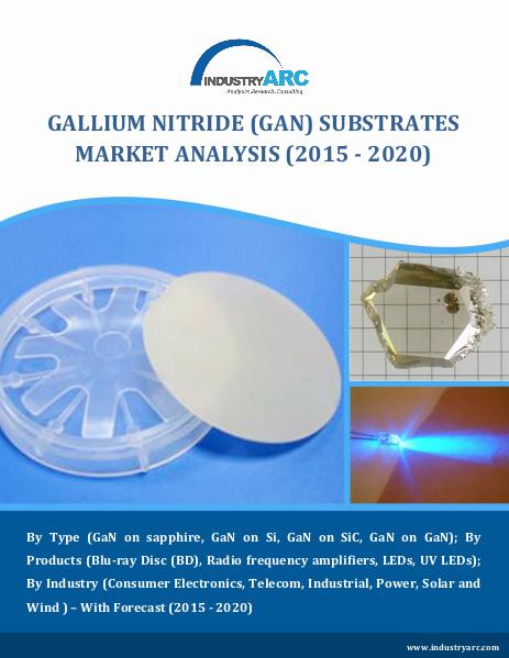 GaN Substrates Market to over $4 billion by 2020 GaN Substrates Market to over $4 billion by 2020