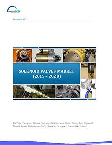 Solenoid Valves Market to grow at a CAGR of 3.8% till 2020