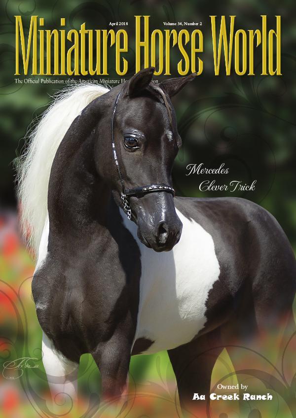 2018 Miniature Horse World Magazine April E-magazine