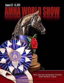 2019 AMHA World Show Program Kit