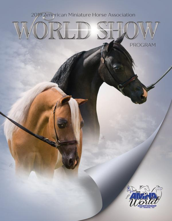 2019 AMHA Publications AMHA World Show Program