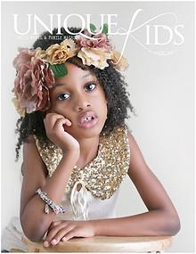 Unique Kids Model Magazine