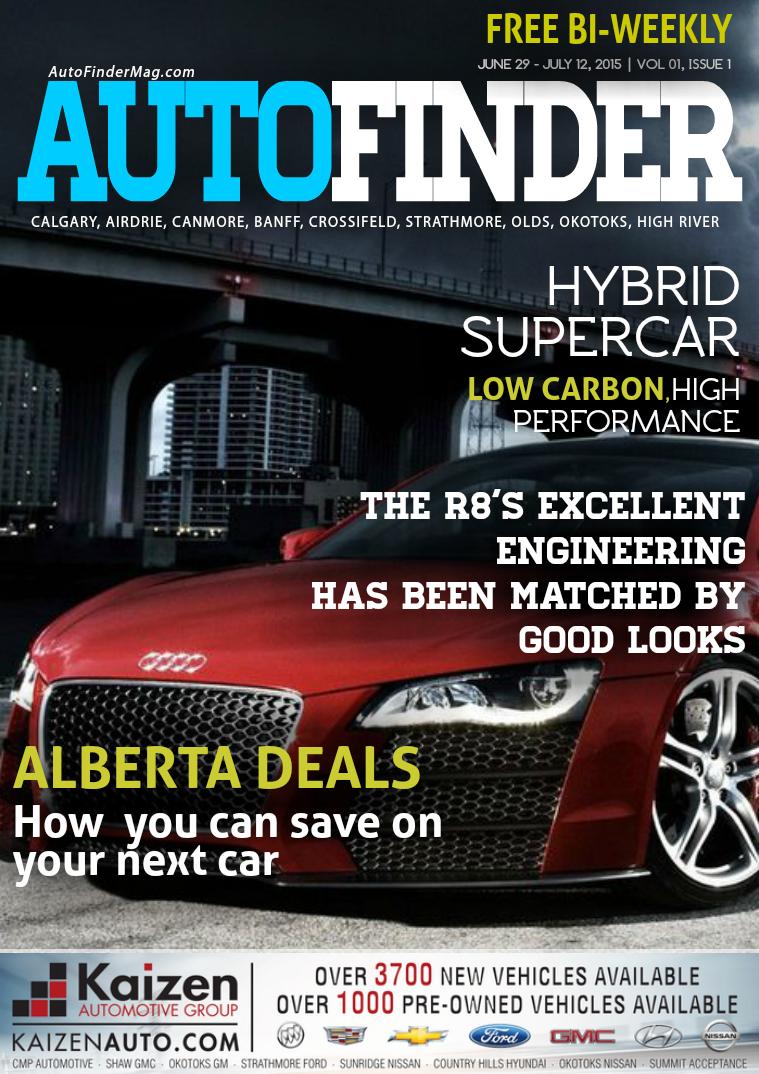 AutoFinder Magazine The Drive: Issue 1, Vol 1