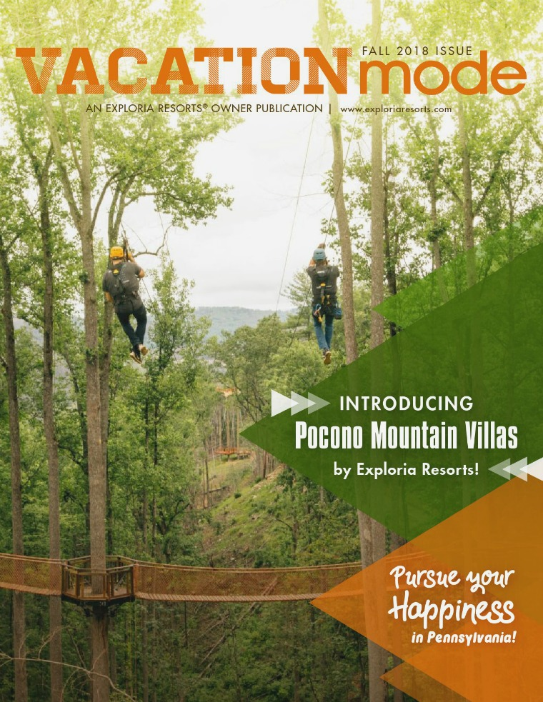 VACATIONmode FALL 2018