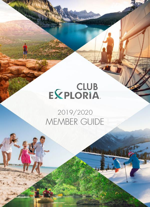 Club Exploria Member Guide 2019/2020