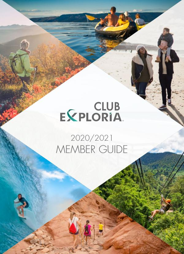 Club Exploria Member Guide 2020/2021
