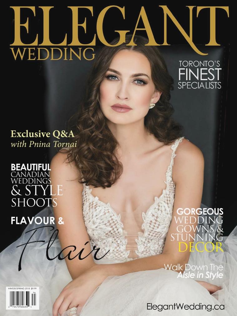 Elegant Wedding Toronto 2018 Elegant Wedding Digital Magazine Toronto 2018
