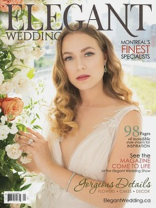 Elegant Wedding Montreal Digital Magazine 2018