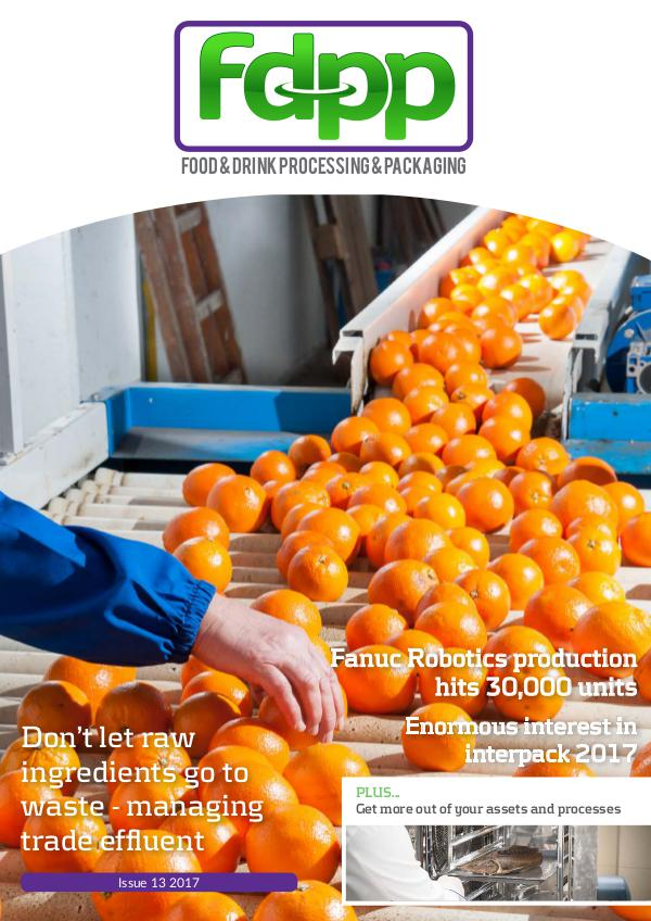 Food & Drink Process & Packaging Issue 13 2017