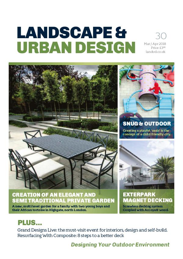 Landscape & Urban Design Issue 30 2018