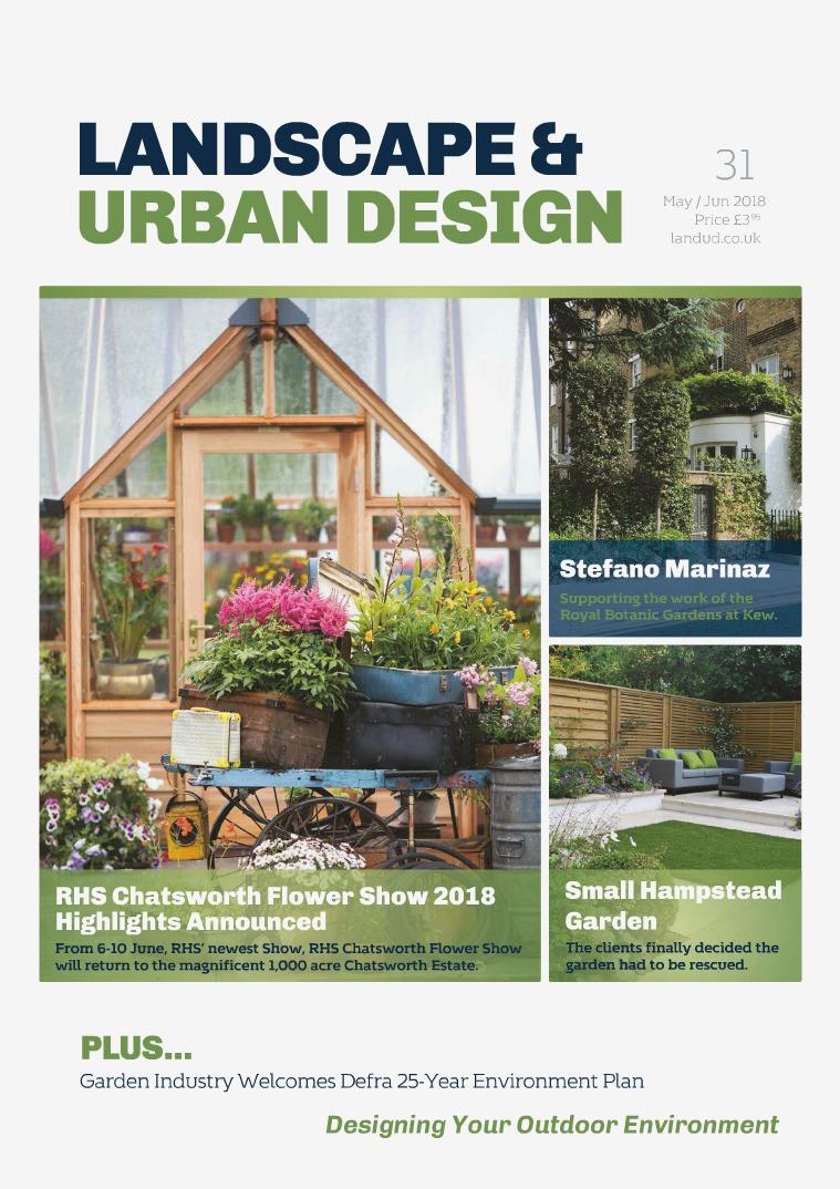 Landscape & Urban Design Issue 31 2018