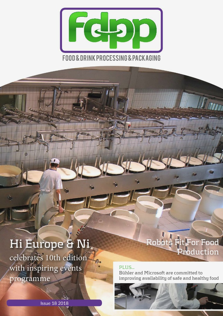 Food & Drink Process & Packaging Issue 18 2018