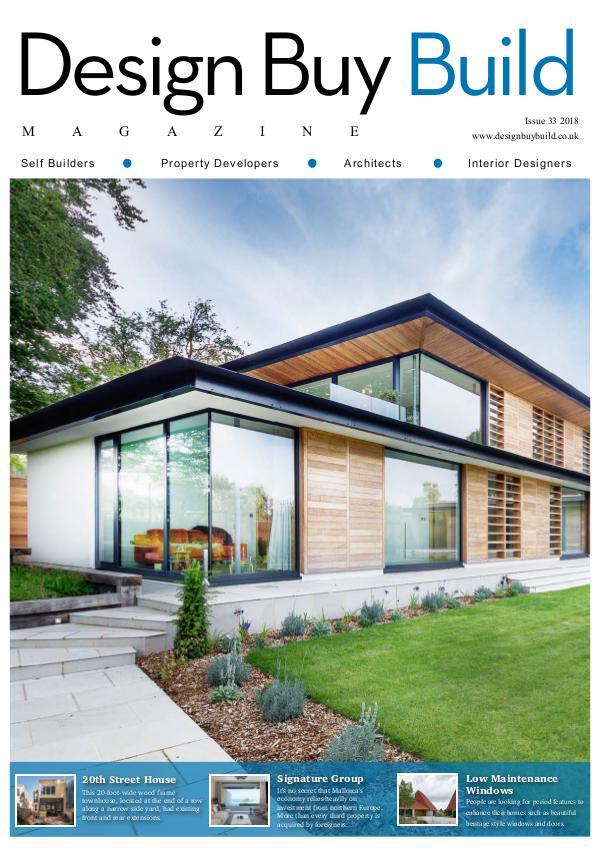 Design Buy Build Issue 33 2018