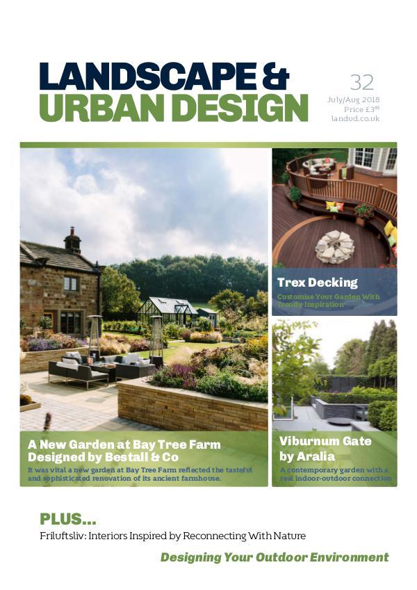 Landscape & Urban Design Issue 32 2018