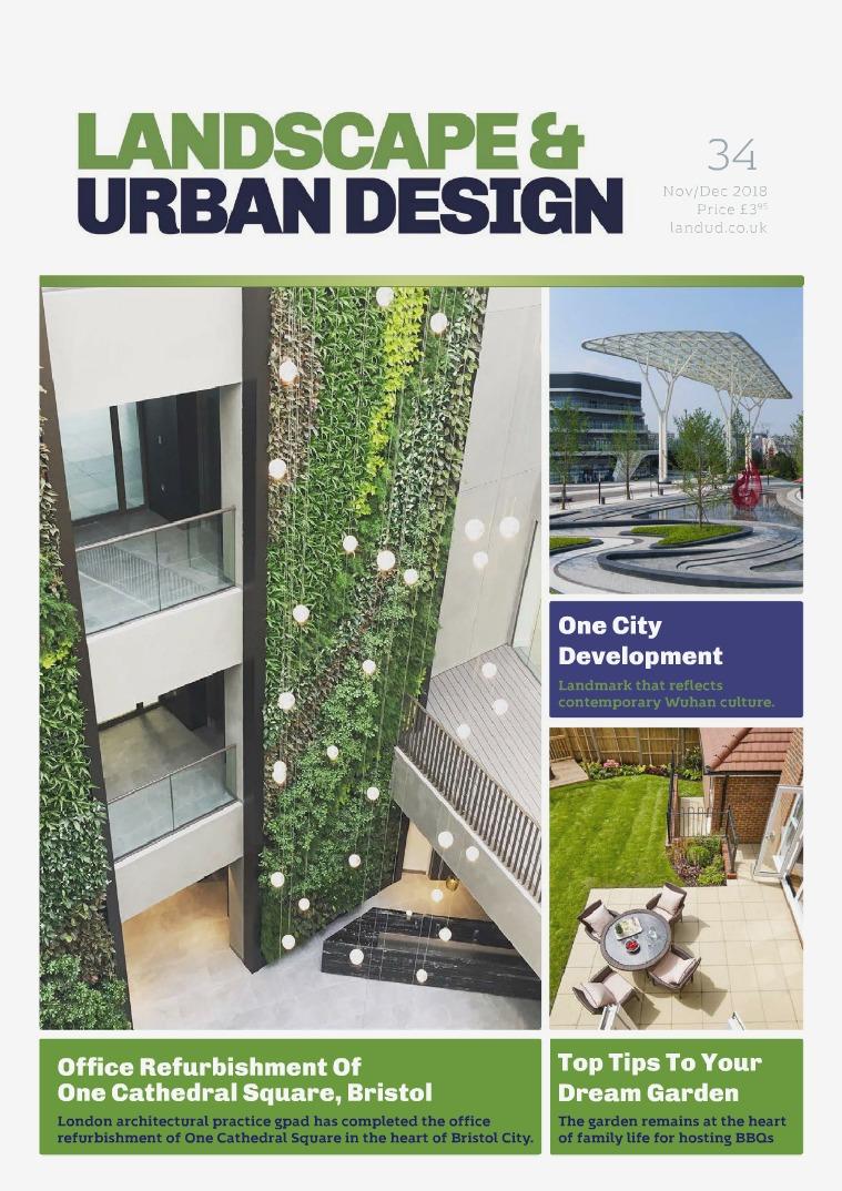 Landscape & Urban Design Issue 34 2018