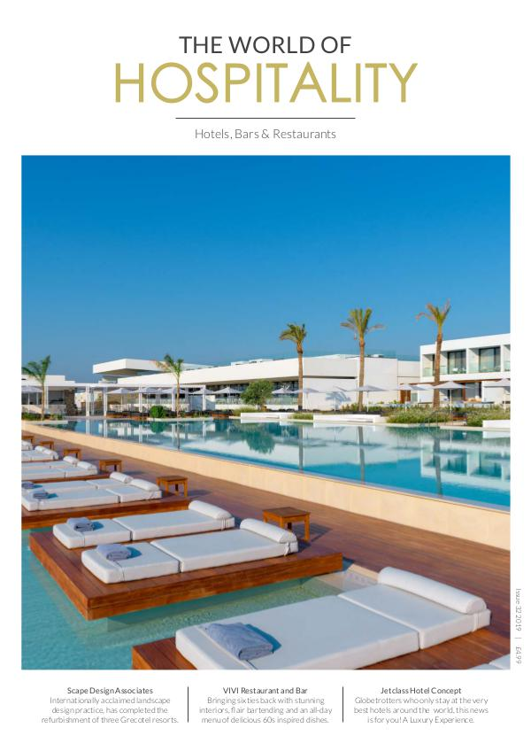 The World of Hospitality Issue 32 2019