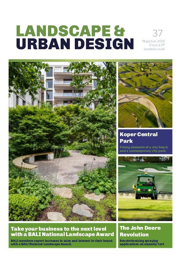 Landscape & Urban Design Issue 37 2019
