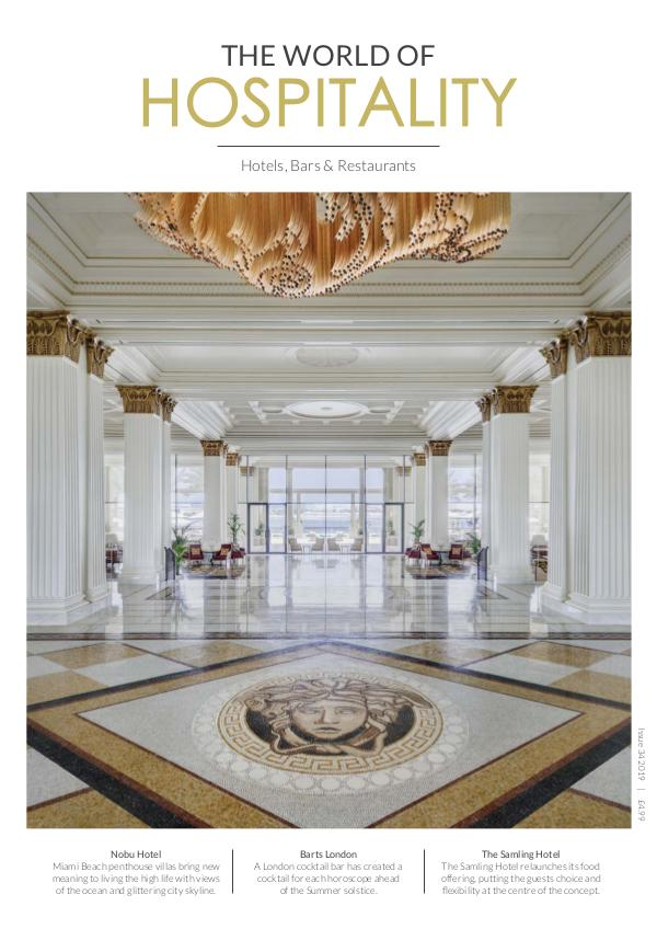 The World Of Hospitality Issue 34 2019