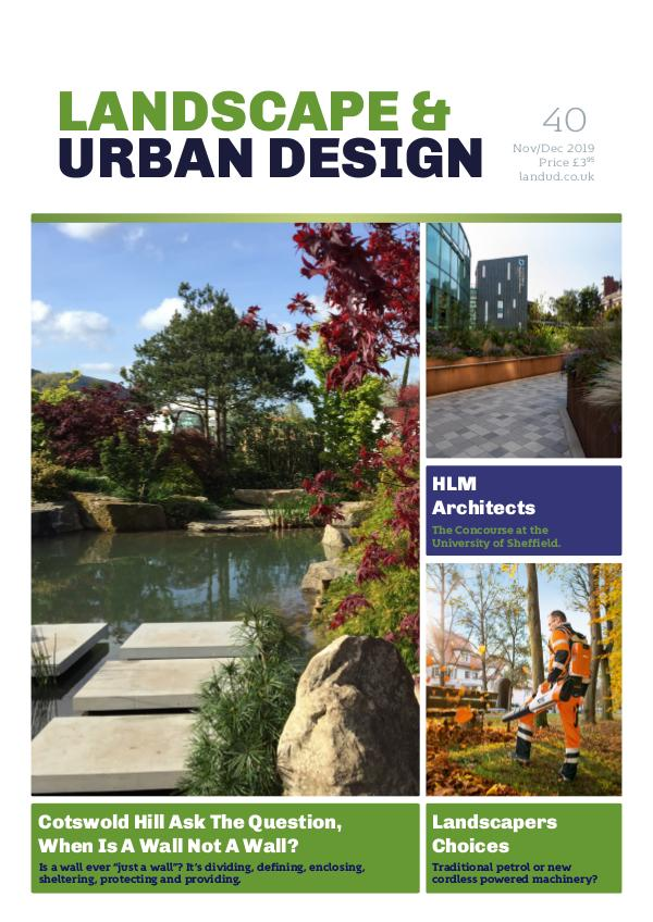 Landscape & Urban Design Issue 40 2019