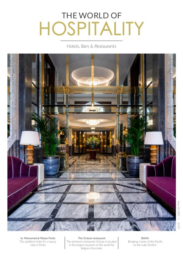 The World of Hospitality Issue 38 2020