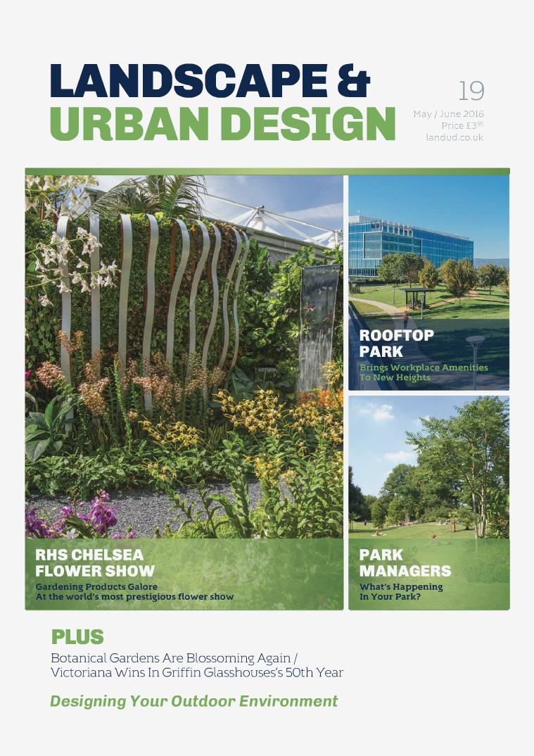 Landscape & Urban Design Issue 19 2016