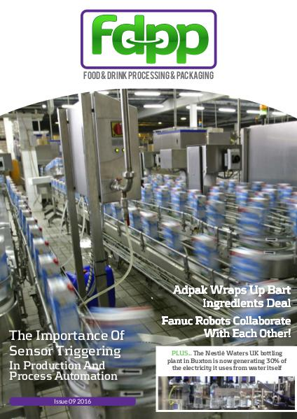Food & Drink Process & Packaging Issue 9 2016