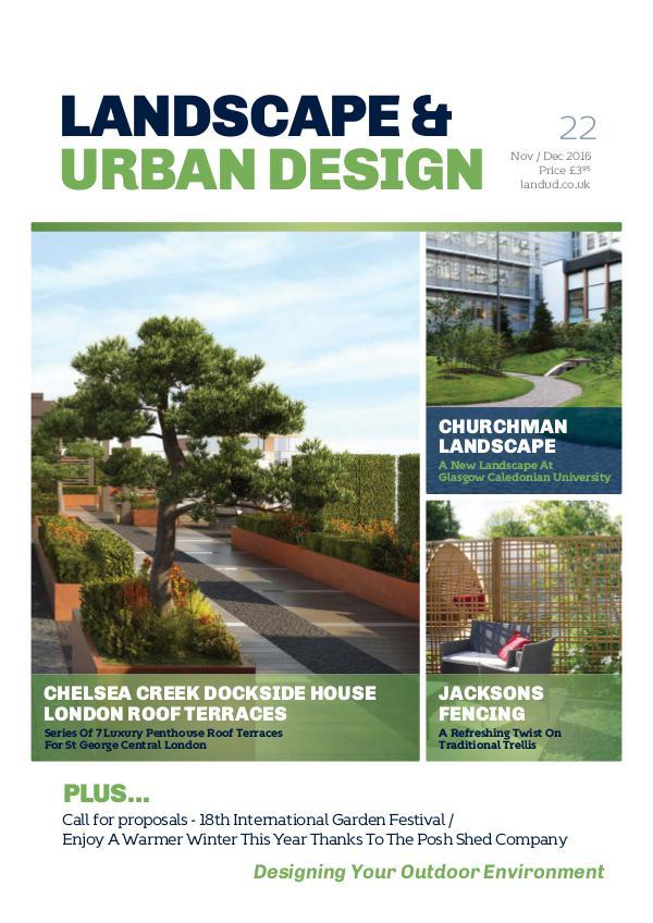 Landscape & Urban Design Issue 22 2016