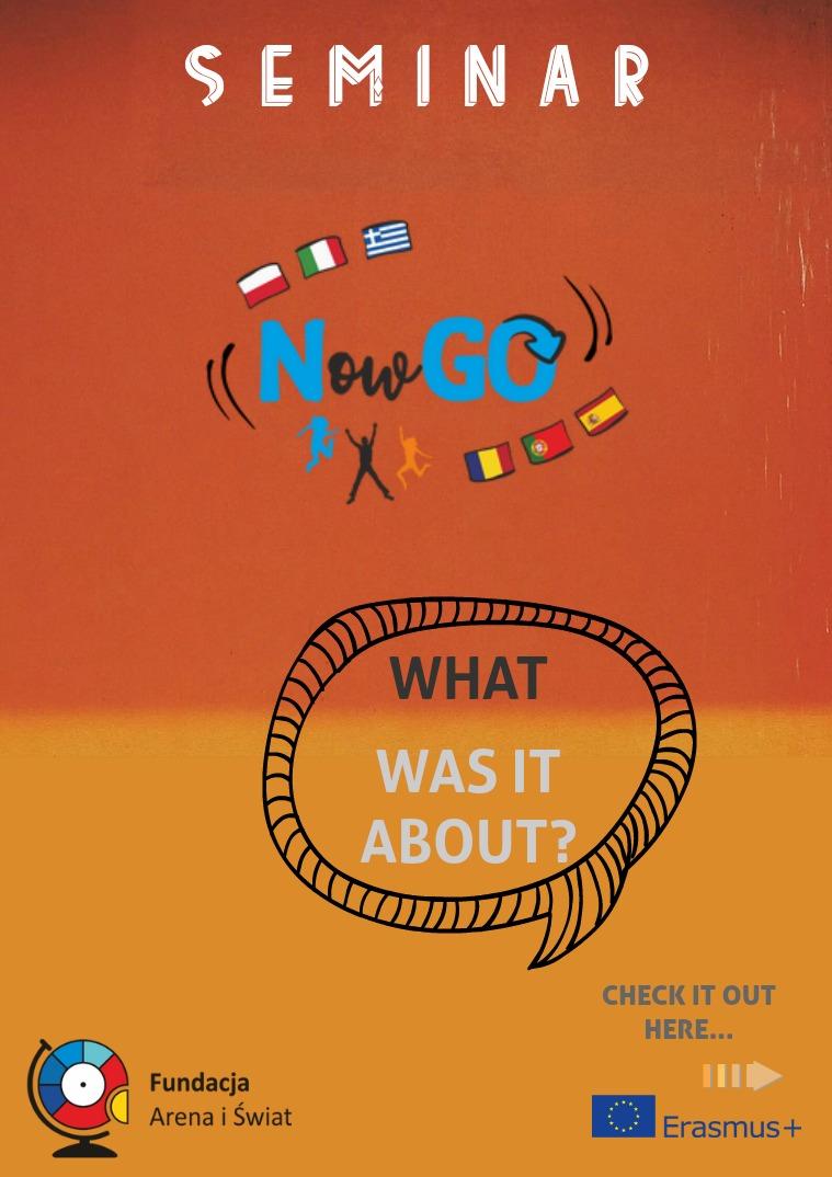 Seminar Now GO! NGO