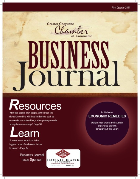 Greater Cheyenne Chamber of Commerce Business Journal Q1 2014