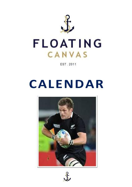 THE FLOATING CANVAS EVENTS CALENDAR